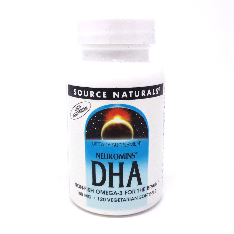 Source Naturals Neuromins DHA 100 mg- 120 Softgels