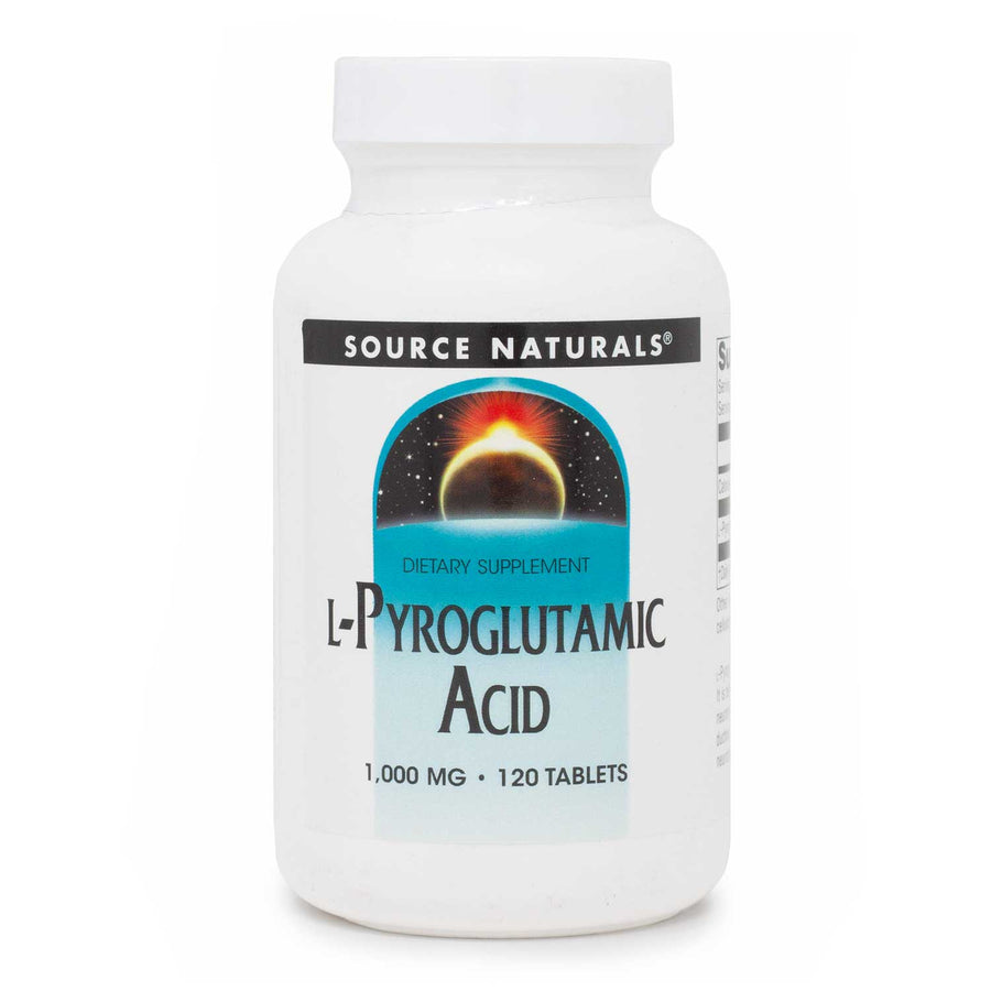 Source Naturals L Pyroglutamic Acid 1000 mg 120 tabs
