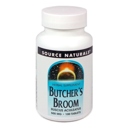 Source Naturals Butcher's Broom 500 mg - 100 Tablet