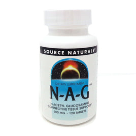 Source Naturals N-A-G N-acetyl Glucosamine - 120 Tablets