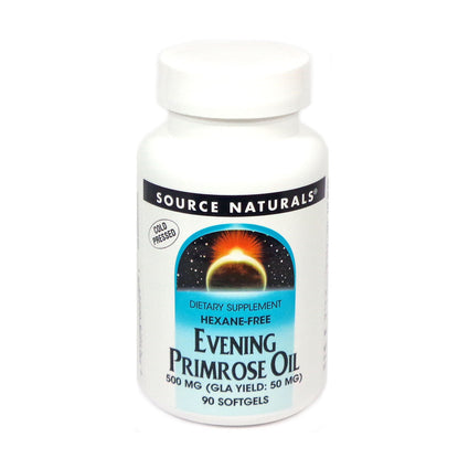 Source Naturals Evening Primrose Oil Hexane-Free 500 mg - 90 Softgel
