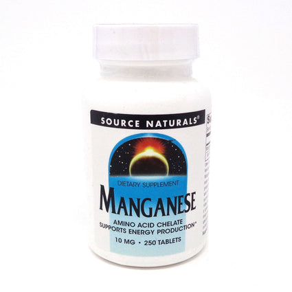 Source Naturals Manganese Chelate 15 mg 250 tabs