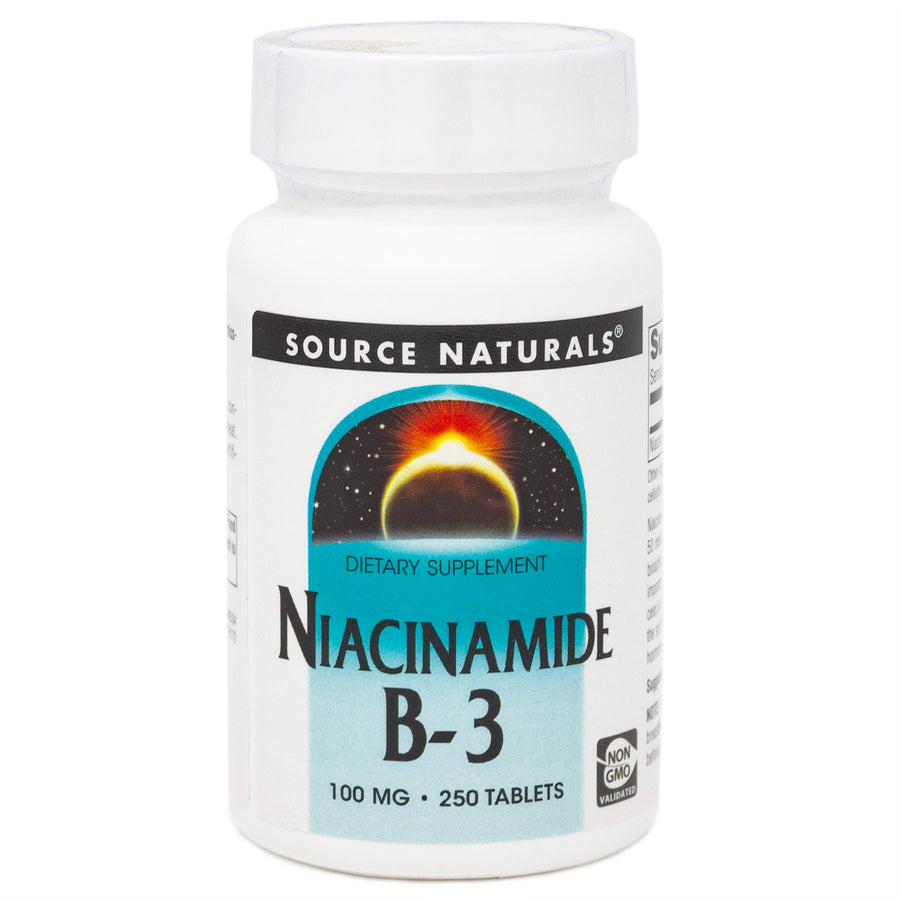Niacinamide 100 mg by Source Naturals 250 Tablets