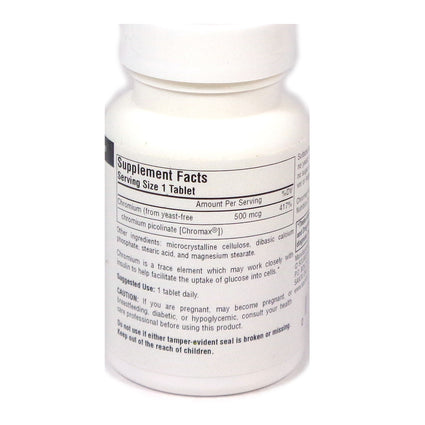 Source Naturals Ultra Chromium Picolinate 500 500 mcg - 120 Tablet