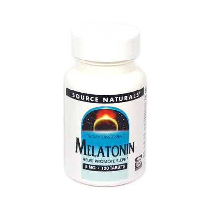 Source Naturals Sleep Science Melatonin 5 mg - 120 Tablet