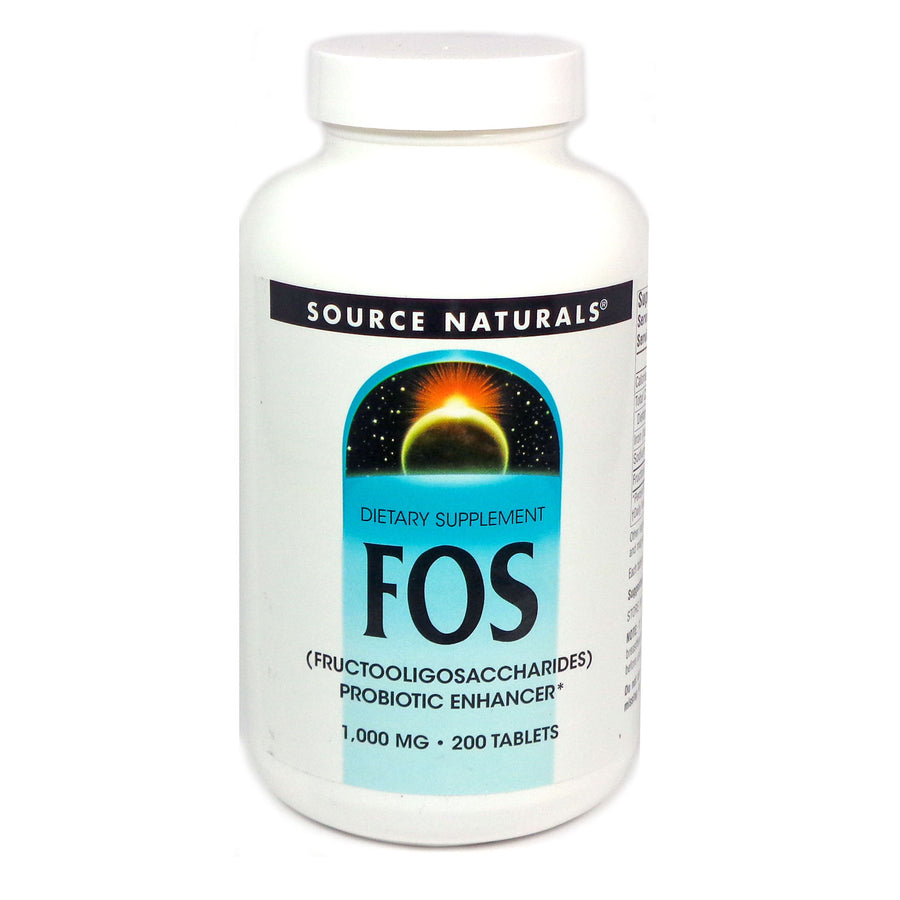 Source Naturals FOS 1000 mg - 200 Tablet