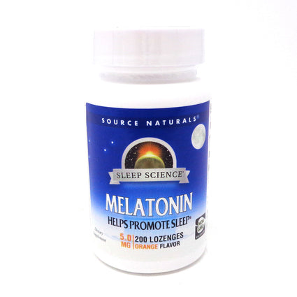 Source Naturals Melatonin 5mg - 200 Tablets