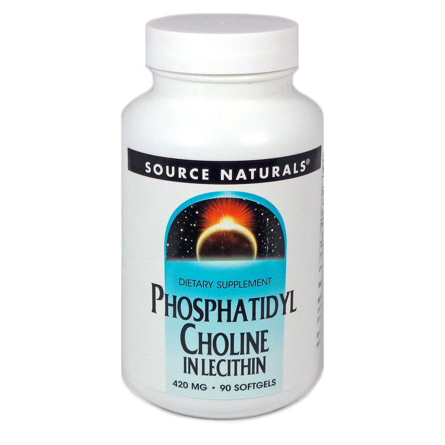 Source Naturals Phosphatidyl Choline 420 mg - 90 Softgel