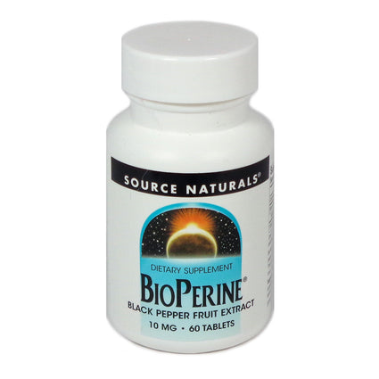 Source Naturals BioPerine 10 mg - 60 Tablet
