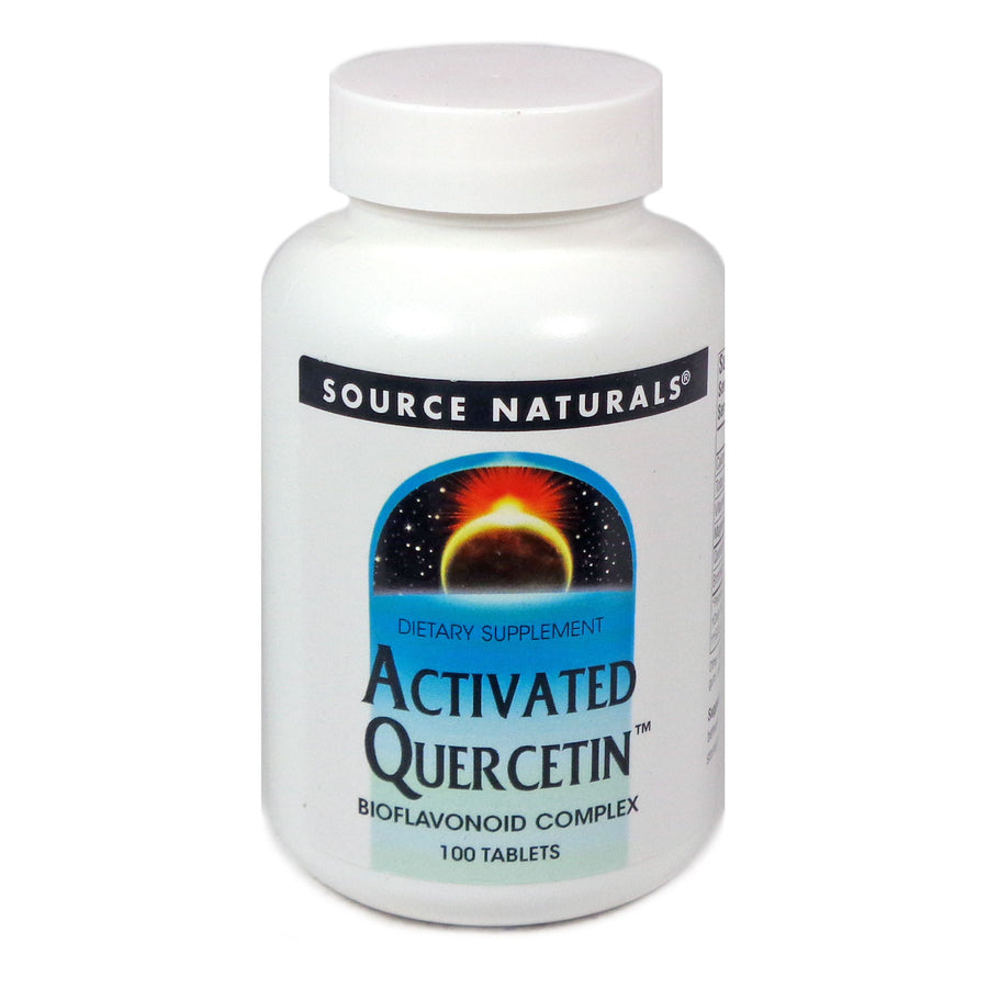 Source Naturals Activated Quercetin - 100 Tablet