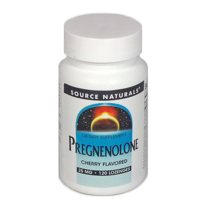 Source Naturals Pregnenolone 25 mg Cherry - 120 Lozenge