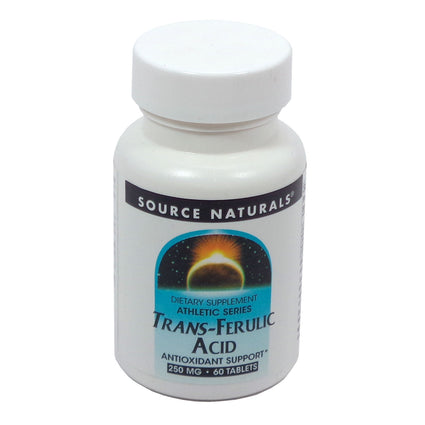 Source Naturals Trans-Ferulic Acid 250 mg - 60 Tablet