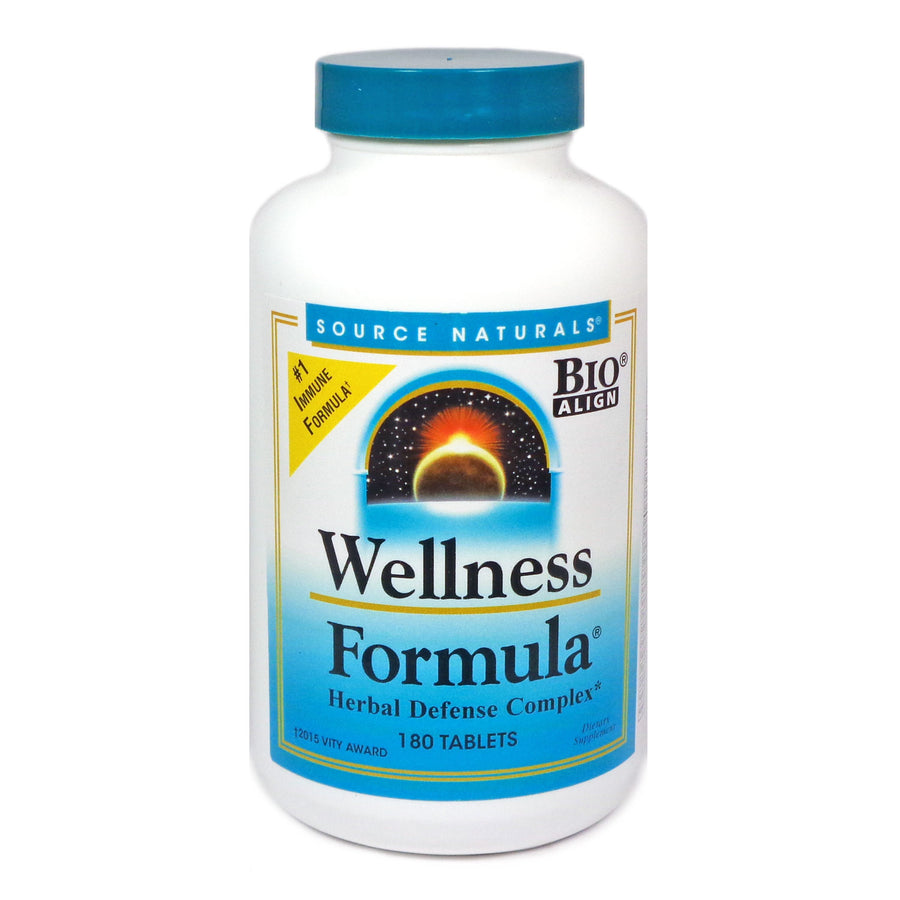 Wellness Formula by Source Naturals - 180 Tablets
