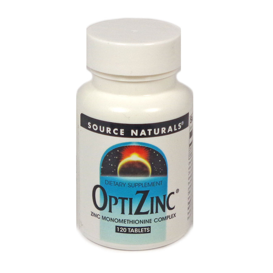 Source Naturals OptiZinc - 120 Tablet