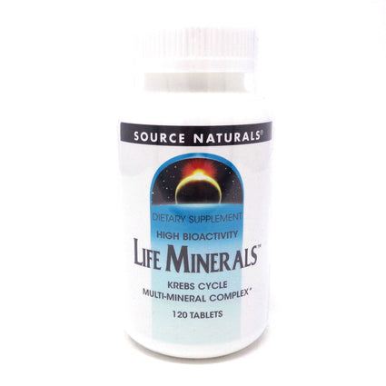 Source Naturals Life Minerals - 120 Tablets