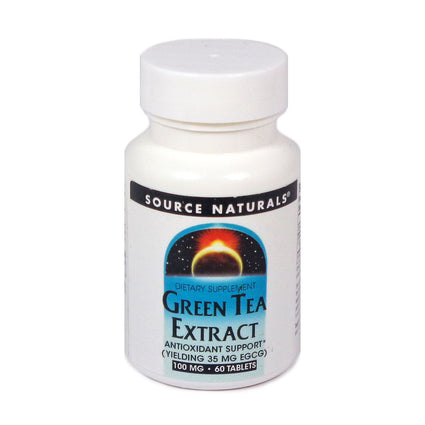 Source Naturals Green Tea Extract 100 mg - 60 Tablet