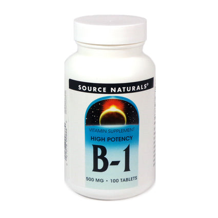 Source Naturals B-1 High Potency 500 mg - 100 Tablet