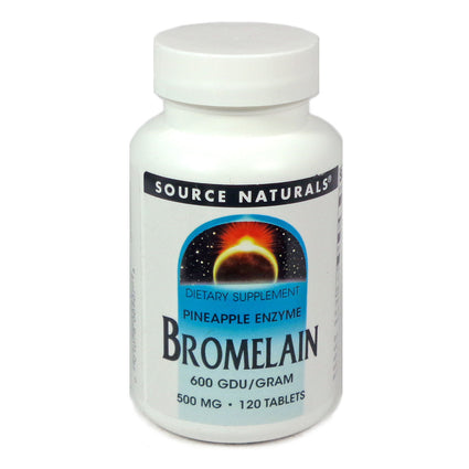 Source Naturals Bromelain 500 mg - 120 Tablet