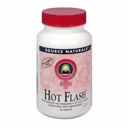 Hot Flash by Source Naturals 90 Tablets