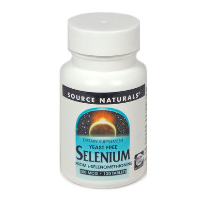 Source Naturals Selenium Yeast Free 200 mcg - 120 Tablet