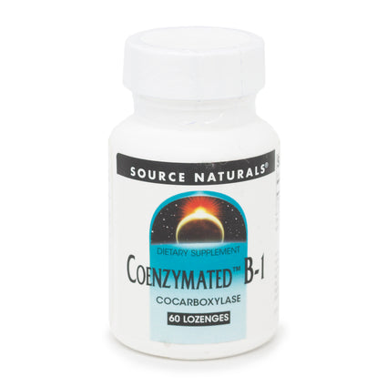 Source Naturals Coenzymated B 1 Sublingual 25 60 tabs