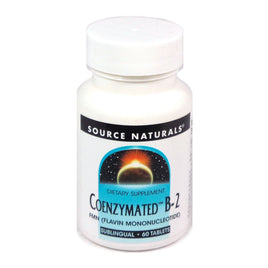 Source Naturals Coenzymated B-2 25 mg Peppermint - 60 Lozenge