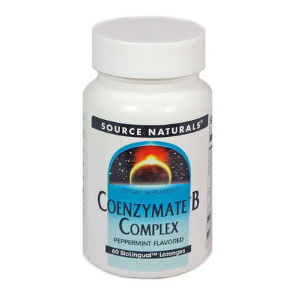 Coenzymate B Complex Sublingual By Source Naturals - 60 Tablets