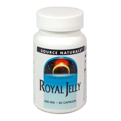 Source Naturals Royal Jelly 500 mg - 60 Capsule