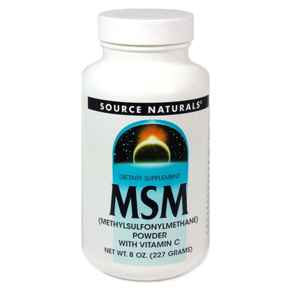 Source Naturals MSM with Vitamin C - 8 Oz Powder