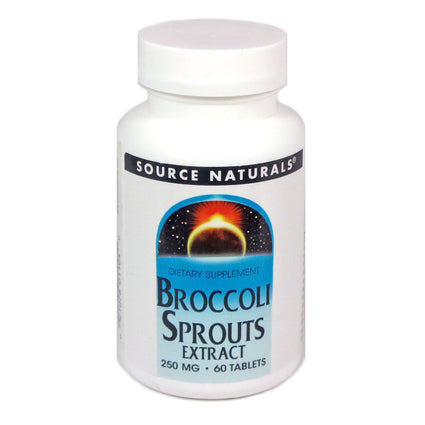 Source Naturals Broccoli Sprouts Extract - 60 Tablet