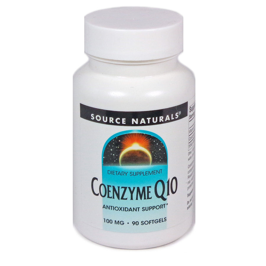 Source Naturals Coenzyme Q10 100 mg - 90 Softgel