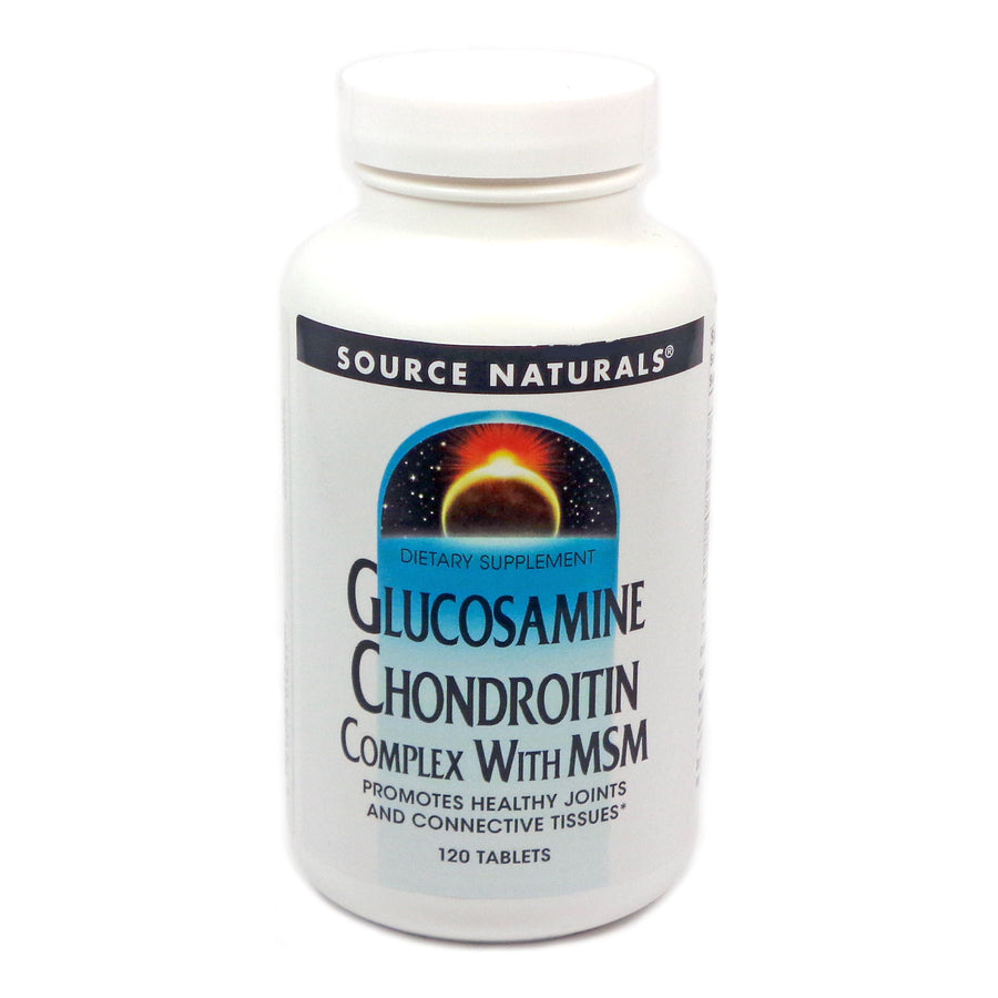 Glucosamine Chondroitin Complex with MSM by Source Naturals 120 Tablets