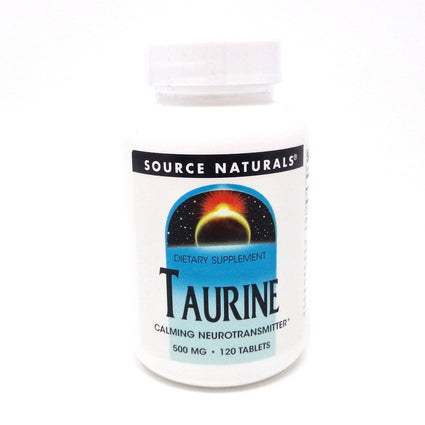 Source Naturals Taurine 500 mg 120 tabs