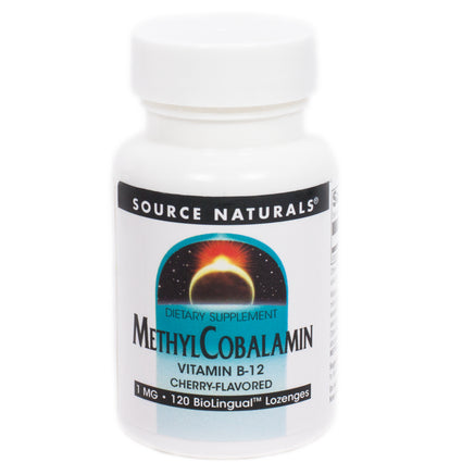 Methylcobalamin Vitamin B-12 By Source Naturals - 120 Tablets