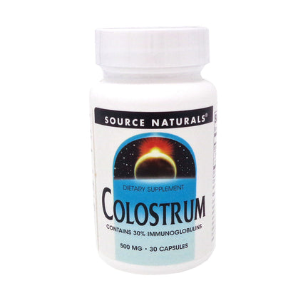 Source Naturals Colostrum 500mg - 30 Capsules