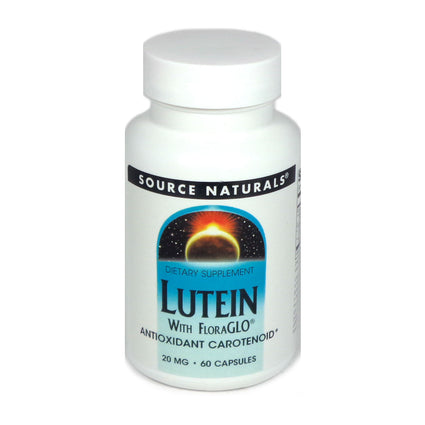 Source Naturals Lutein with Floraglo 20 mg - 60 Capsule