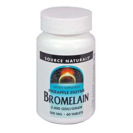 Source Naturals Bromelain 2000 - 60 Tablet
