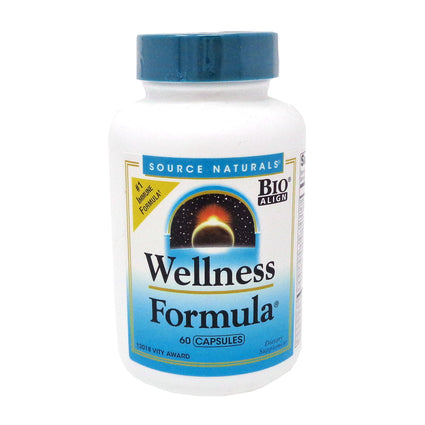 Source Naturals Wellness Formula Capsules - 60 caps