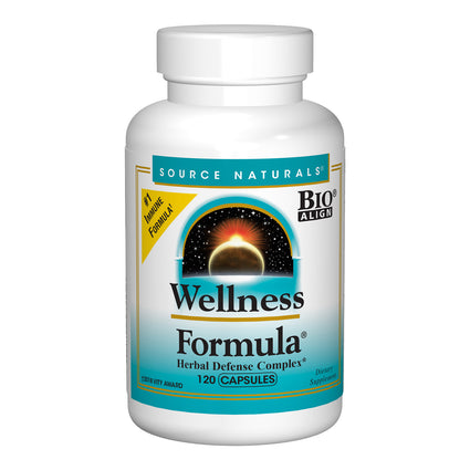 Wellness Formula by Source Naturals - 120 Capsules