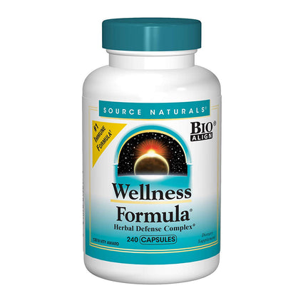 Source Naturals Wellness Formula Immune System Support Supplement - 240 Capsules