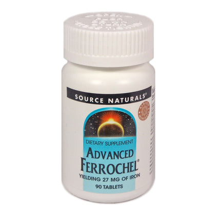 Source Naturals Ferrochel Advanced 27 mg - 90 Tablet