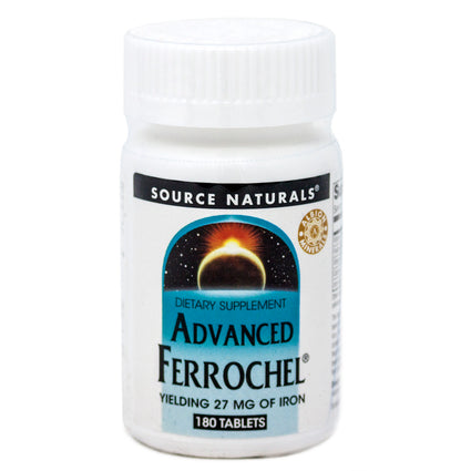 Source Naturals Advanced Ferrochel 180 tabs