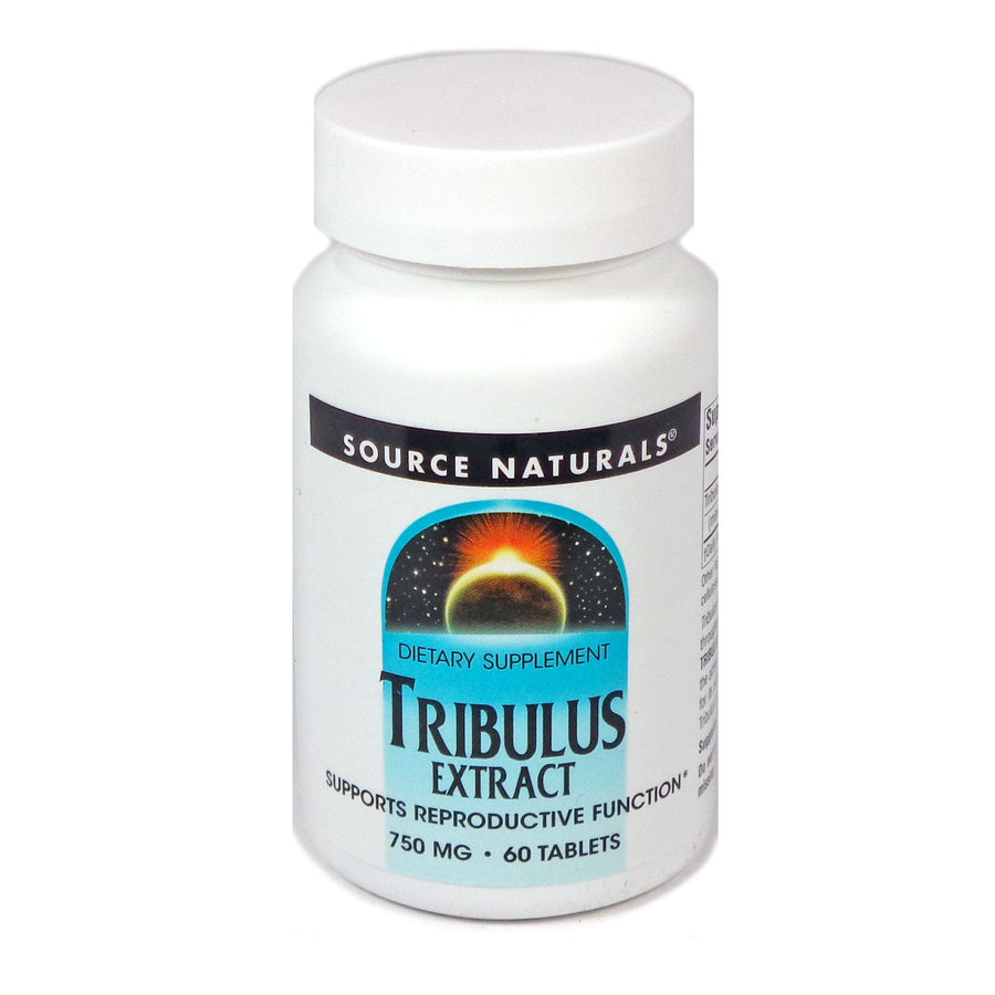 Source Naturals Tribulus Extract 750 mg - 60 Tablet