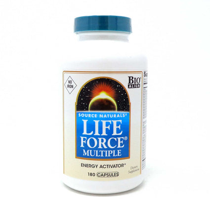 Life Force Multiple No Iron By Source Naturals - 180 Capsules