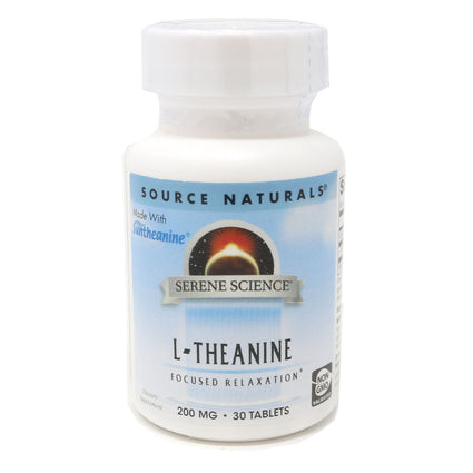 Source Naturals Serene Science L-Theanine 200 mg - 30 Tablet