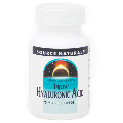 Source Naturals Hyaluronic Acid Injuv  70 mg - 30 Softgel