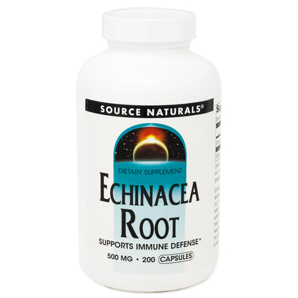 Source Naturals Echinacea Root 500 mg 200 caps