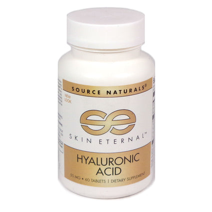 Skin Eternal Hyaluronic Acid by Source Naturals 60 Tablets