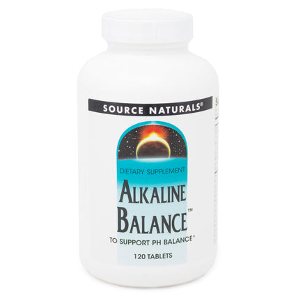 Alka-Balance By Source Naturals - 120 Tablets