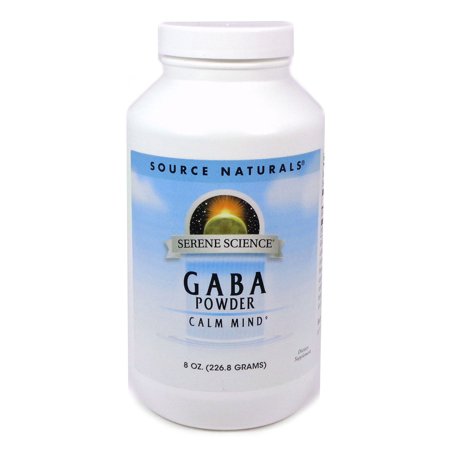 Source Naturals Serene Science GABA 750 mg - 8 Oz Powder